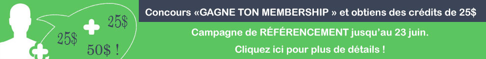 Concours Gagne ton membership